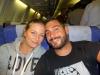 Im Flugzeug der Air China...