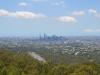 Aussicht von Mount Coot-Tha by day
