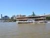 Altes Schiff auf dem River