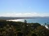 Byron Bay Beach von weitem