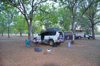 Auf dem Campingplatz