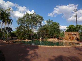 Pool beim Campingplatz