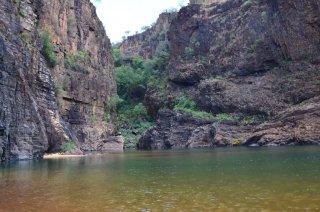 Bei den Twin Falls