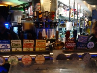 The good beer on tap