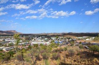 Aussicht auf Alice Springs