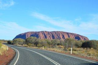 Fahrt zum Uluru
