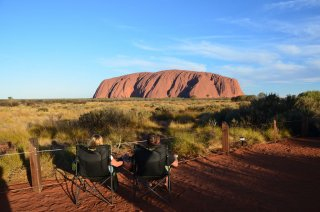 Beer o'clock @ Uluru