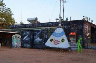 Alien Campingplatz