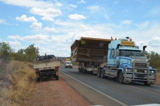 Oversize Lastwagen