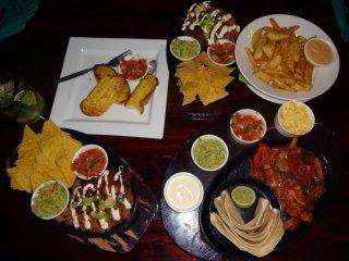 Abendessen beim Mexikaner