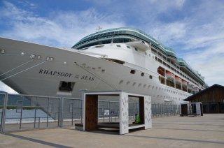 Das grosse Kreuzfahrtschiff