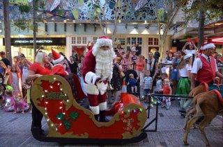 Weihnachtsumzug in der Queen Street Mall