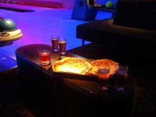 Bowling und Pizza-Abend