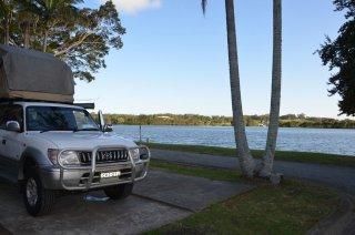 Campingplatz Croki direkt am Wasser