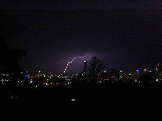 Der Blitz!