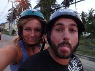 ätsch wir fahren wieder Scooter ;-)