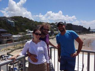 Wochenende an der Gold Coast mit Lucy & Matthew