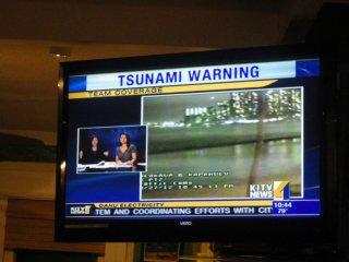 Tsunami warning in Hawaii :-/