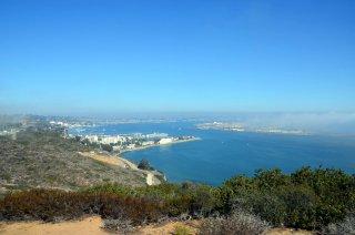 Aussicht auf San Diego vom Cabrillo National Park