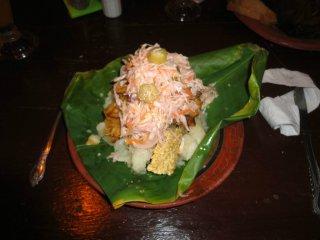 Emanuels traditionelles Essen