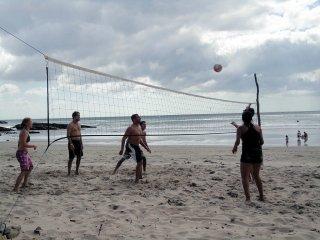 Beach Volleyball spielen