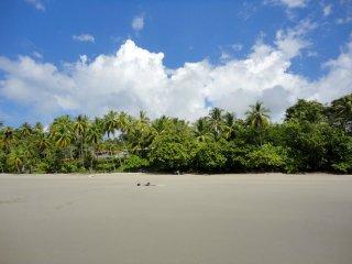 Unser einsamer Strand