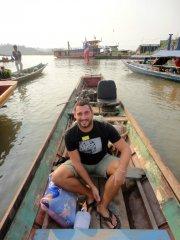 mit dem Loongboat nach Laos