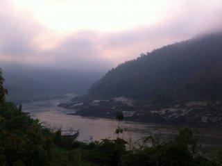 Morgenstimmung am Mekong