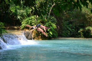 Kuangsi Waterfall, einfach wow