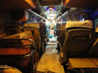 Unser Nachtbus von Thakhek nach Pakse