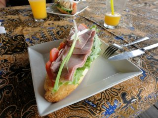 leckeres Lao Sandwich