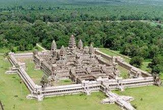 Angkor Wat von oben