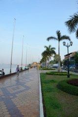 Promenade von Phnom Penh