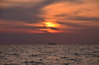 Sunset in Koh Rong