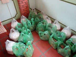 Die Spenden-Tüten