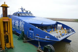 Das Boot nach Macau