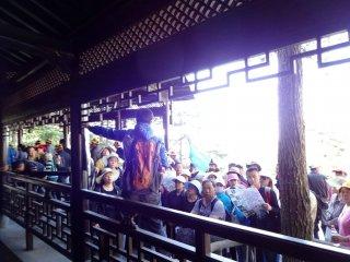 Die Touristen von Huang Shan