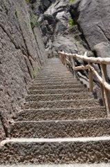 Treppe hoch und runter