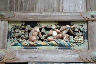 die typische Affenposition