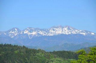 Takayama - Aussicht auf die Alpen