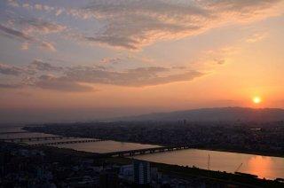 Sunset Osaka