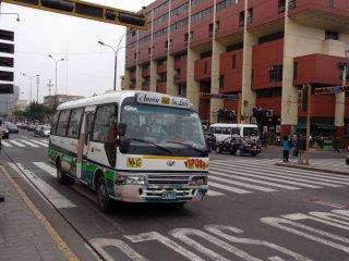 Stadtbus vom LIma