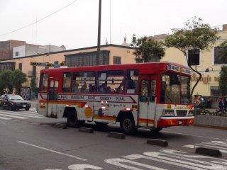 Stadtbus von Lima