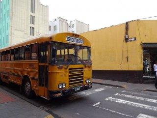 und noch ein weiterer Stadtbus in Lima