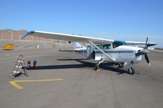 das mini FLugzeug :-)