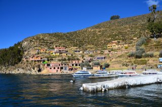 Der Hafen in Isla del Sol
