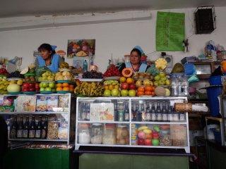 Mercado centro, hier gibts Fruitshakes