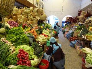 Mercado centro, Gemüse