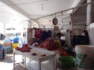 Mercado centro, Fleisch