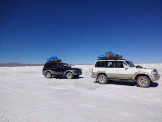 die beiden Jeeps